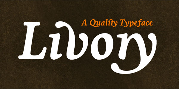 Livory - Serif Type Family by HVD Fonts