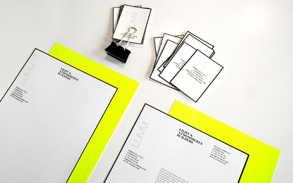 Lumm - Stationery Design by Ariadna Vilalta