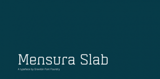 Mensura Slab - Serif Font Family by Pablo Balcells for Graviton Font Foundry
