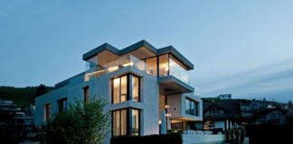 Modern Architecture - The Concrete Block House by SimmenGroup