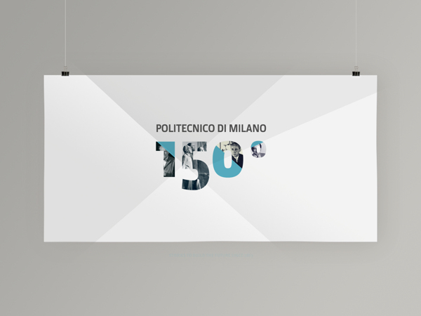 Logo design for politecnico di milano 150 anniversary for Politecnico design