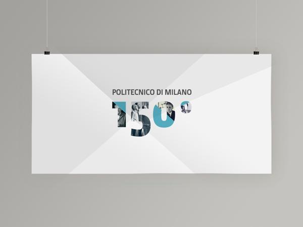 Politecnico di Milano 150° ANNIVERSARY - Key Visual