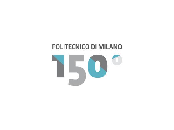 Logo design for politecnico di milano 150 anniversary for Politecnico di design milano