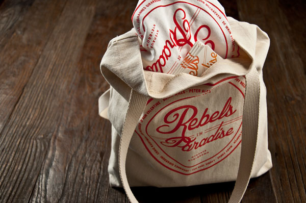 Rebels In Paradise - Brand Identity Design by Kyle LaMar