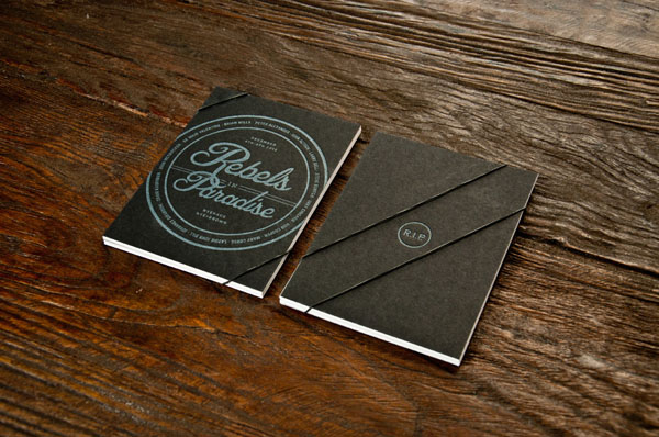 Rebels In Paradise - Brand Identity by Kyle LaMar