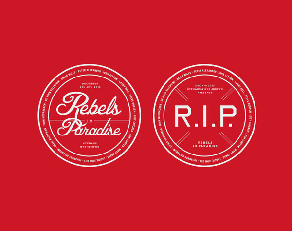 Rebels In Paradise - Logo Design by Kyle LaMar