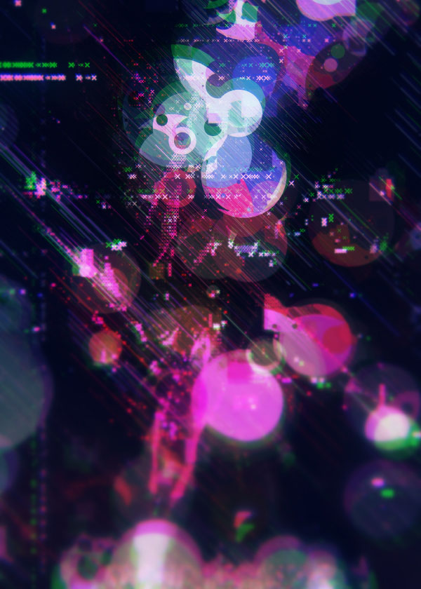 Retro Bubbles - Digital Artwork by Atelier Olschinsky
