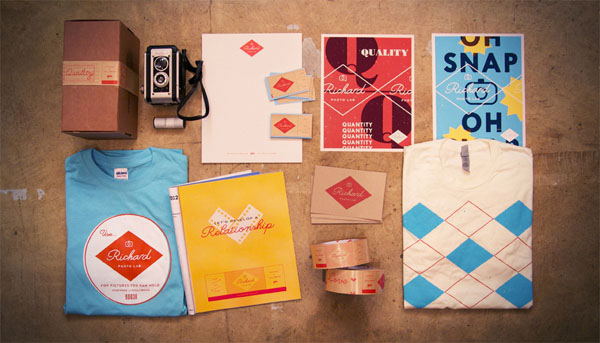 Richard Photo Lab - Brand Identity by Matchstic