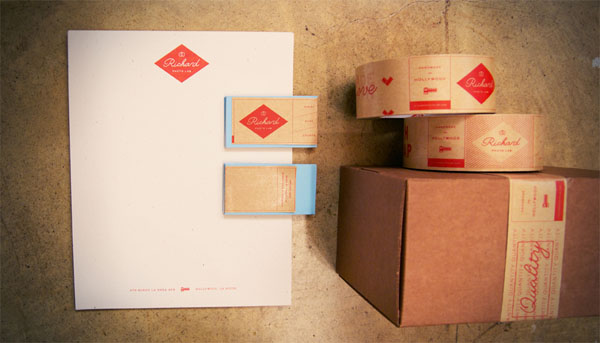 Richard Photo Lab - Stationery and Packaging by Matchstic