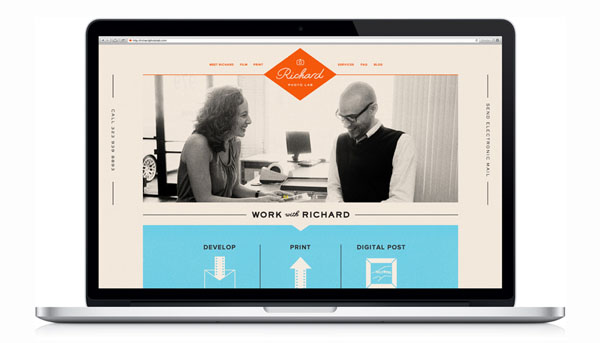 Richard Photo Lab - Website Design by Matchstic