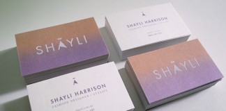 SHAYLI Business Cards by Aldous Massie