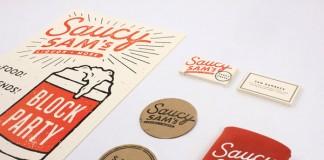 Saucy Sam's - Branding by Alex Register Design