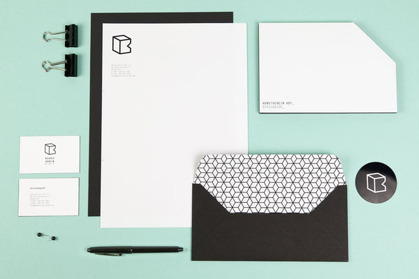 Special K - Kunstverein Hof - Stationery Design by Sebastian Berbig and Derya Ormanci