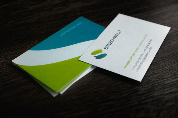 Speechwell - Business Card Design by Higher