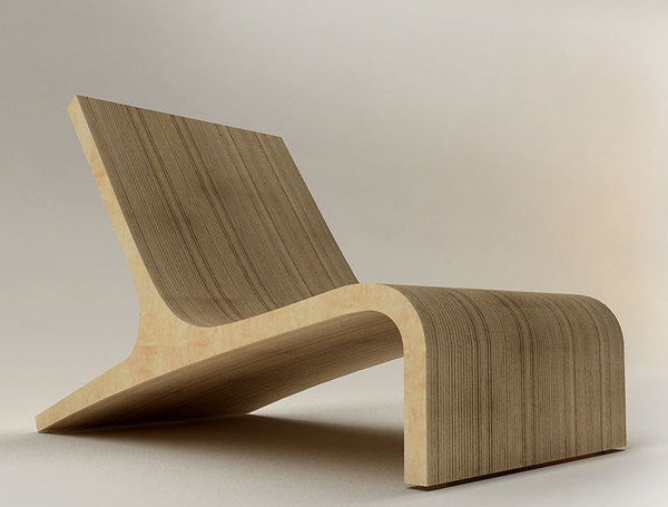 Interior design for modern furniture by velichko velikov for Modern design lounge chairs