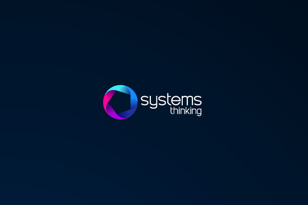 Systems Thinking - Logo Design by Agency Higher - Dark Background