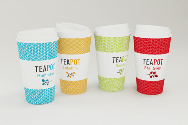 Teapot - Cup Packaging by Nadia Arioui