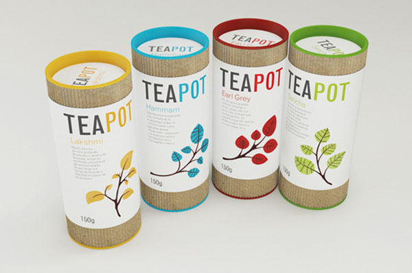 Teapot - Package Design by Nadia Arioui