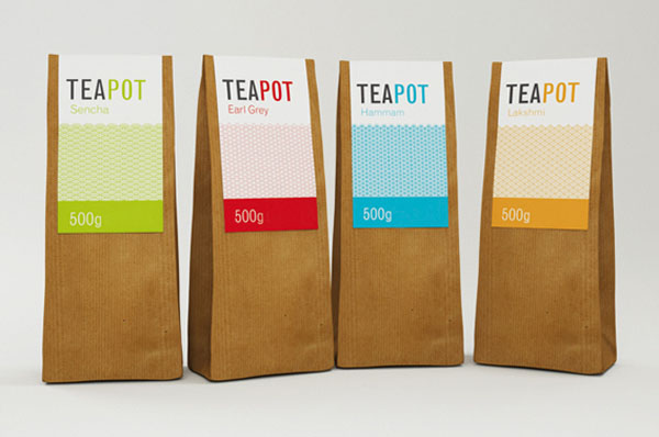 Teapot - Packaging by Nadia Arioui
