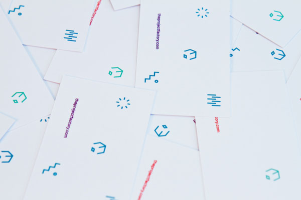 The Project Factory - Business Cards