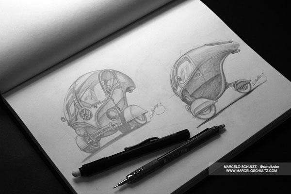 The Sketch Collection by Marcelo Schultz