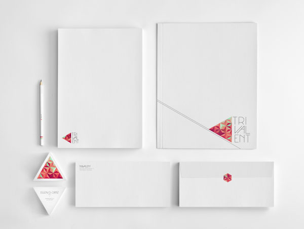 Trivalent - Graphic Brand Identity Design by Nina Georgieva