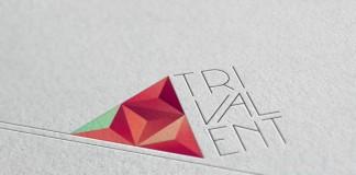 Trivalent Logo Design by Nina Georgieva