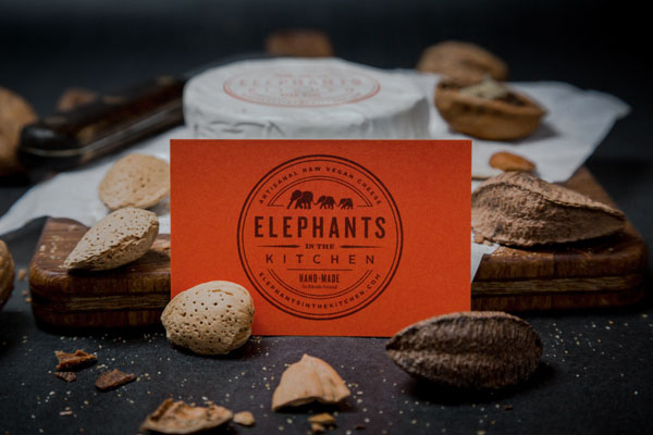 Elephants in the Kitchen Identity by Bluerock Design