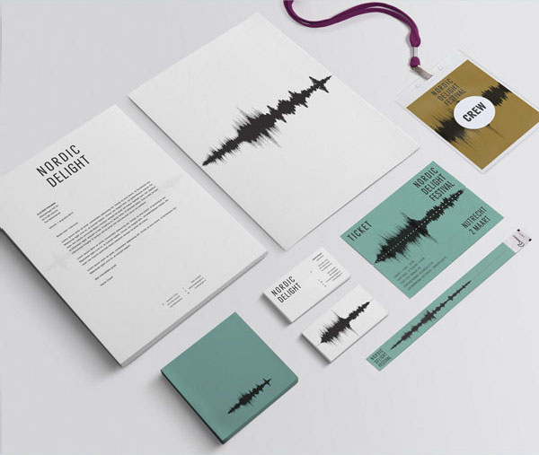 Nordic Delight Festival Corporate Identity by CLEVER°FRANKE