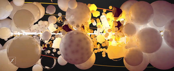 Sync 1 - Experimental 3D Motion Graphics by Cristian Acquaro