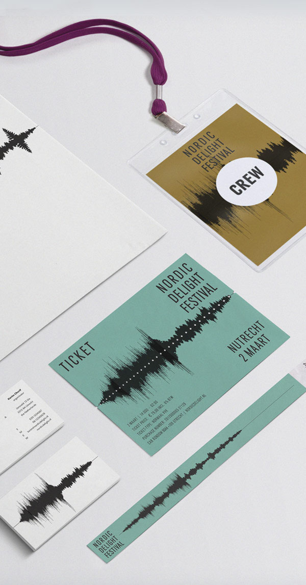 Nordic Delight Festival Branding Material by CLEVER°FRANKE