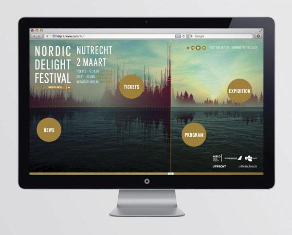 Nordic Delight Festival - Web Design by CLEVER°FRANKE