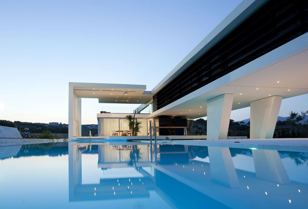 Etonnant H3 Futuristic Luxury Residence In Athens, Greece By 314 Architecture Studio