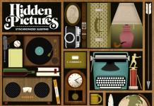 Illustrated Album Artby Jordan Gray for folk-pop band Hidden Pictures