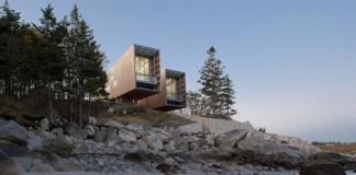 Two Hulls House in Nova Scotia, Canada by MacKay-Lyons Sweetapple Architects