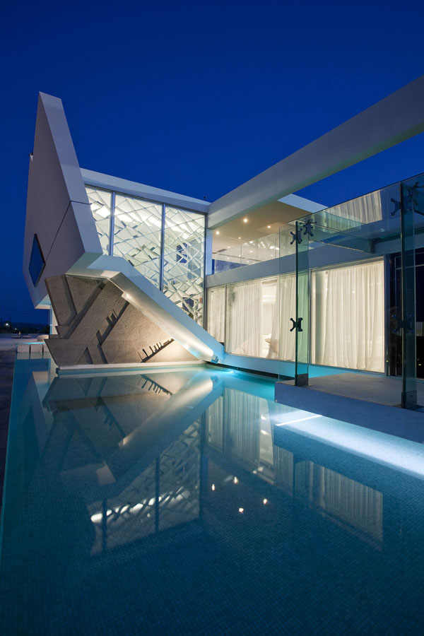 Modern Architecture Greece modern residence in greece - h.3.314 architecture studio