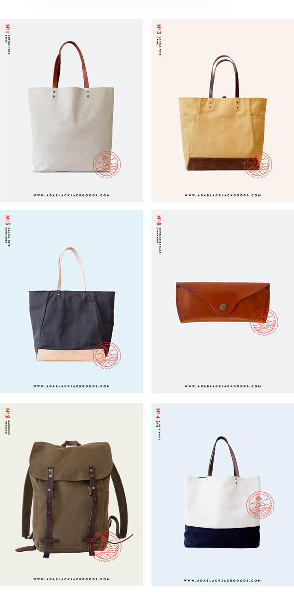 Ada blackjack bags