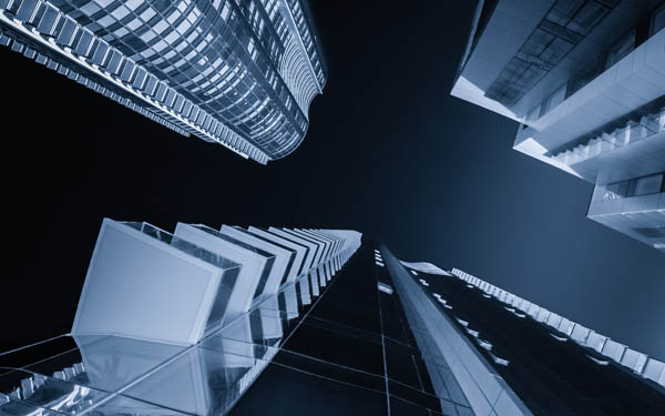 Blue Print - Architecture Photography by Toby Harriman