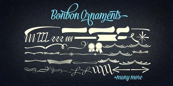 Bonbon Font Ornaments