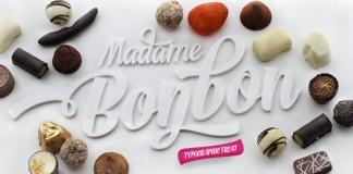 Bonbon script family desktop font by Fenotype
