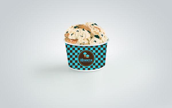 Breeze - Ice Cream Packaging Design by Martin Zarian