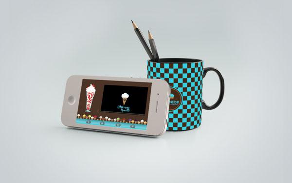 Breeze - Ice Cream Shop Brand Design by Martin Zarian