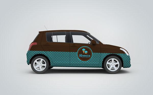 Breeze - Ice Cream Shop - Car Design by Martin Zarian