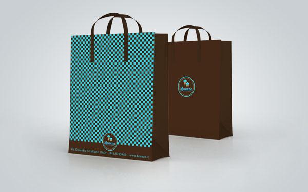 Breeze - Ice Cream Shop Packaging by Martin Zarian