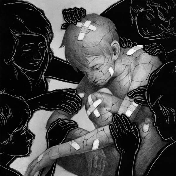 Cracked - Illustration by Ashley Mackenzie