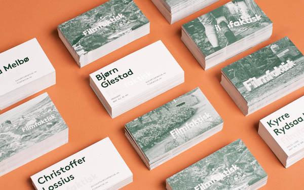Filmfaktisk Brand Identity by Design Studio Heydays