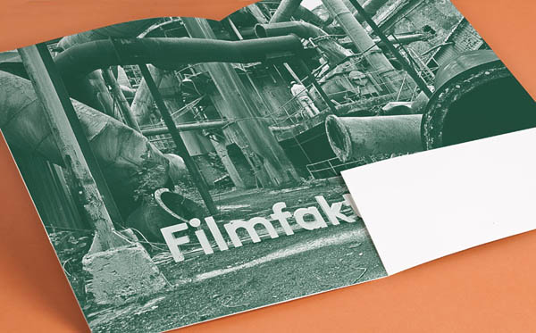 Filmfaktisk Corporate Identity by Design Studio Heydays