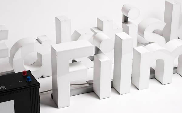 Filmfaktisk Typography by Design Studio Heydays