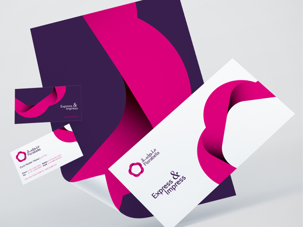 florabella brand identity by mohd almousa