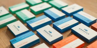 Grouper Business Cards by Kyle Miller Creative
